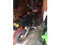 Stomp CRF 70 EX road Legal Supermoto PIT BIKE