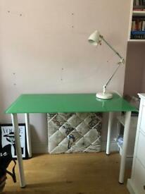 IKEA table and desk light combo