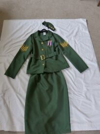 Girl's WWII Army Costume