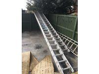 5 meter and 4 meter ladders
