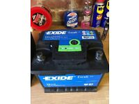 Exide Excell EB442 Car Battery