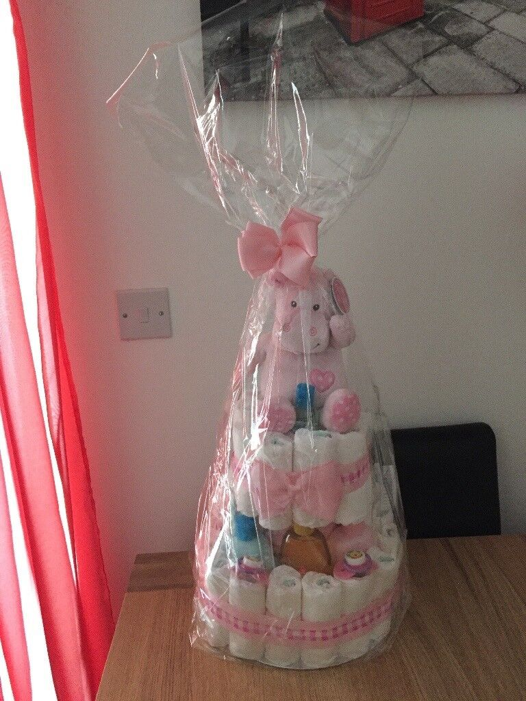 Nappy Cakes In Pink Or Blue