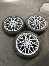 DARE multi spoke alloys 215/40/18