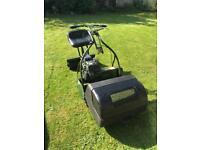 Webb 24 inch cylinder ride on mower
