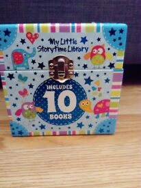 My little story time library in excellent condition