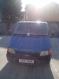 Ford transit smiley van for sale
