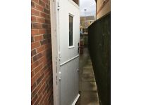 Composite upvc stable door