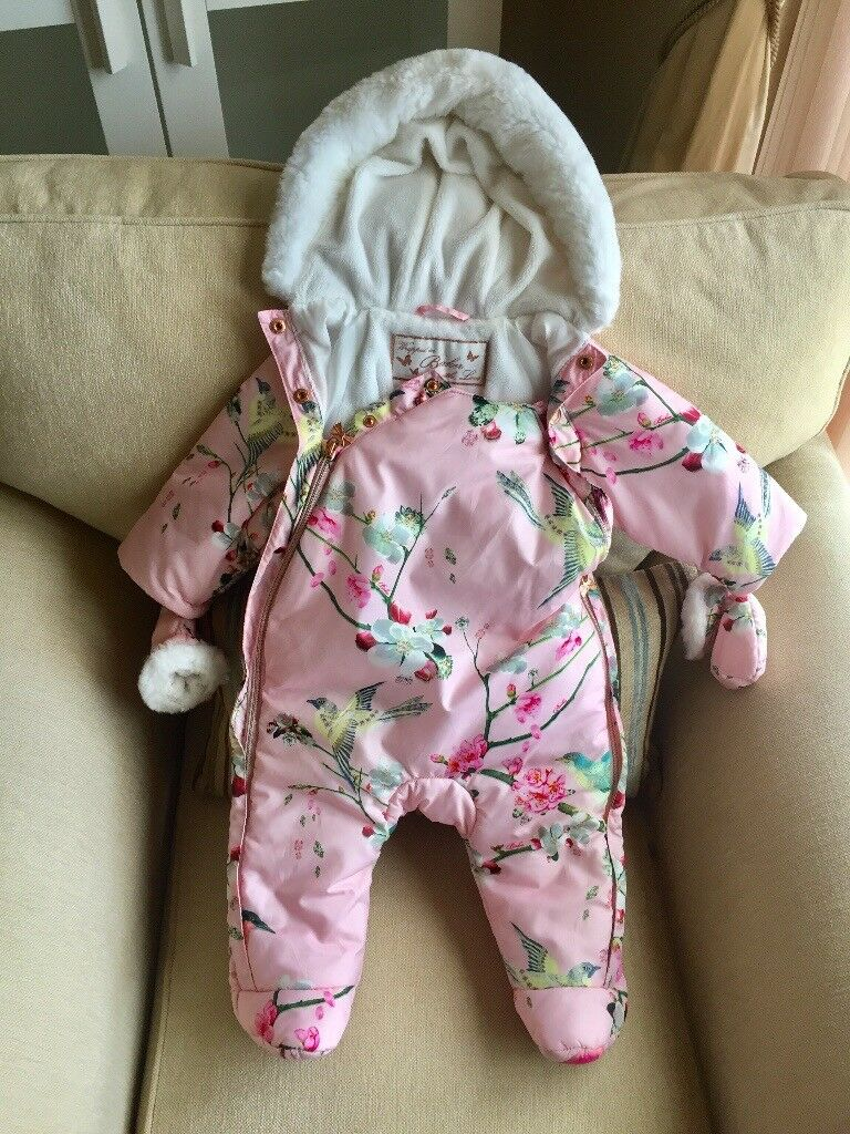 2339c0be3 Baby girl Snowsuit Ted Baker 3-6 months