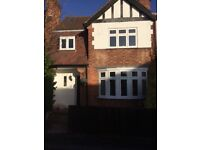 3 double bedrooms. Sunny home. Recently redecorated, excellent condition and location. Beeston