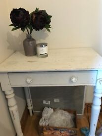 Shabby chic console table / side table