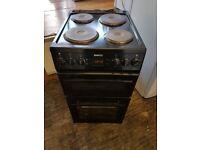 Beko 50cm electic cooker double oven