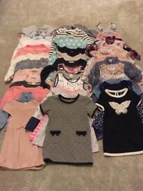 12-18 months girls clothes bundle