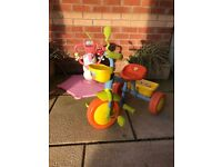 Toddler trike With handle