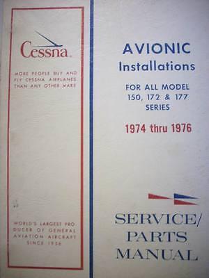 Cessna ARC Factory Wiring Book 1974 - 1976 C-150, 172 & 177.