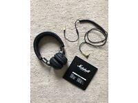 Marshall Bluetooth Headphones barely used!