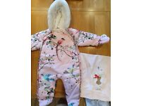 Ted Baker snow suit and blanket