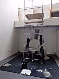 Brand New Scaffolding Tower 4ftx4ftx11ft - £160ONO