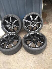 Mercedes a class amg 17' alloys&tyres