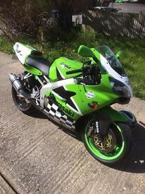 Kawasaki zx6r ninja j2