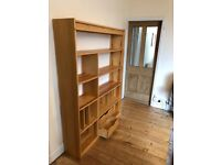 Pine Wood Bookshelves - Great Condition