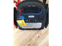 Halfords Battery Charger and Tyre Inflator