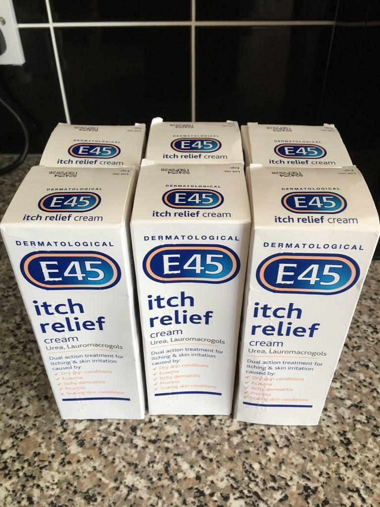 E45 itch relief cream x 6   in Hoyland, South Yorkshire   Gumtree