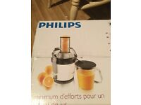 Never used Phillips juicing machine