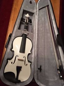 White Violin, as New, Never used