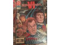 Assorted DC Star Trek Comics in Plastic Sleeve
