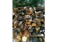 Logs for burning