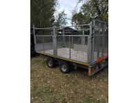 Ifor Willian's trailer cage side