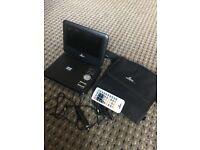 "Lava 7"" portable DVD player"