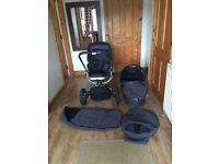 Quinny carrycot, pushchair & accessories