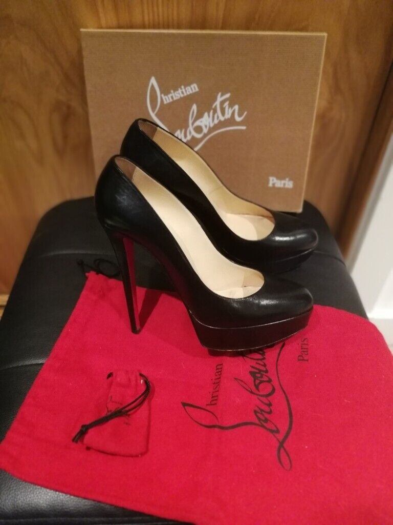 half off f2da3 d1c00 Louboutin platform heels, Bianca 140. Collection only. | in Sheffield,  South Yorkshire | Gumtree