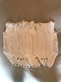 Assorted unisex/boys baby clothes
