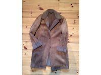 Ladies Faux Sheepskin Coat - Lands End
