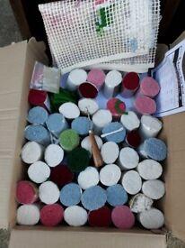 Rug Wools. Bundle
