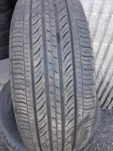 4 PNEUS ETE - MICHELIN 215 55 17 - 4 SUMMER TIRES