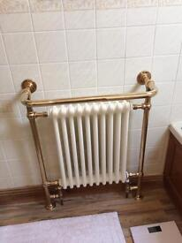 Victorian style heated towel rail/radiator