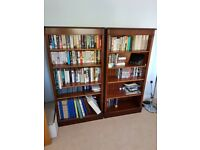 Book cases, (Marshbeck) mahogany wood