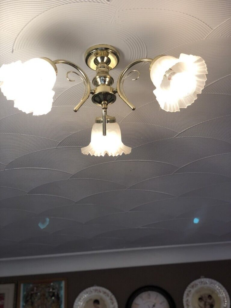 Gold Effect Lighting Set In Dukinfield Manchester Gumtree