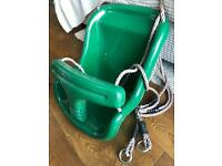 Green Baby / Toddler Swing Seat
