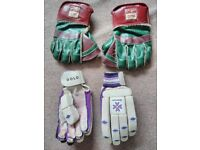 Cricket Season - Batting and Wicket keeping gloves