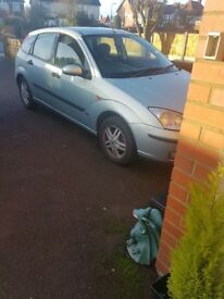 Ford focus 1.6 petrol mot till beginning of April good runner nice car tow bar fitted