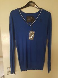 New with labels small g star mens jumper