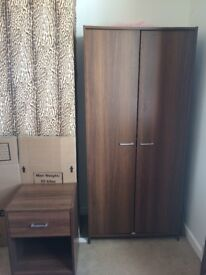 Wardrobe and side unit