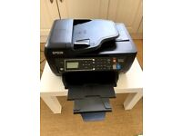 EPSON - Wifi Colour Printer - WorkForce WF-2750 All-in-One Inkjet Printer with Fax