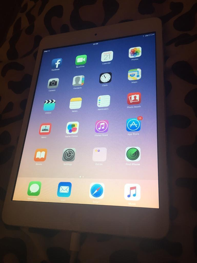 iPad Mini Generation 1, Wifi 16gbin Bishops Stortford, HertfordshireGumtree - iPad mini 1, mint condition no scratches etc No charger or box Wifi only NOTE this iPad cannot update to IOS 10 as older gen Mint condition