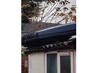 Zaffira roof bars and roof box