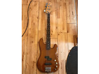 Fender Deluxe Active P Bass Special in Natural Okoume. Mexican Only used a couple times